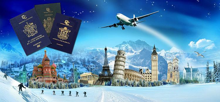 Какие страны владельцы карибских паспортов могут посещать без виз ради отдыха