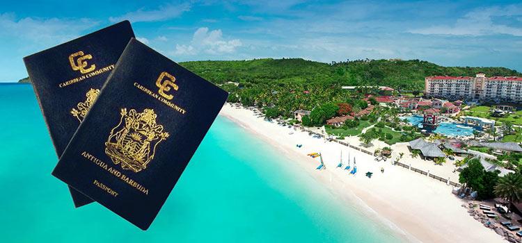 получить второй паспорт и гражданство Антигуа и Барбуда за инвестиции
