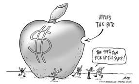 Apple грозит штраф в 8 млрд. долларов за неуплату налогов в ЕС