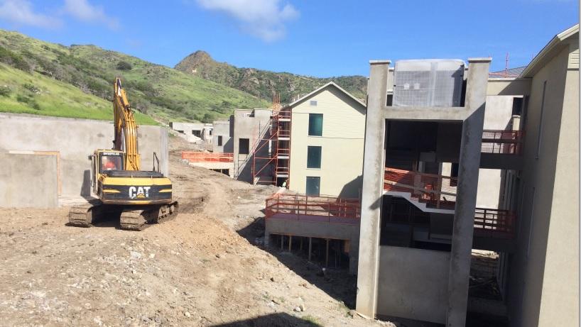 строительная площадка Park Hyatt St Kitts