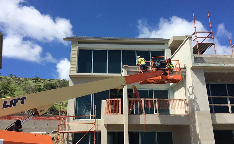 строительство в Невис