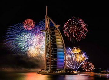 празднование нового года  в ОАЭ