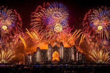 экспаты отмечают Новый Год в Эмиратах