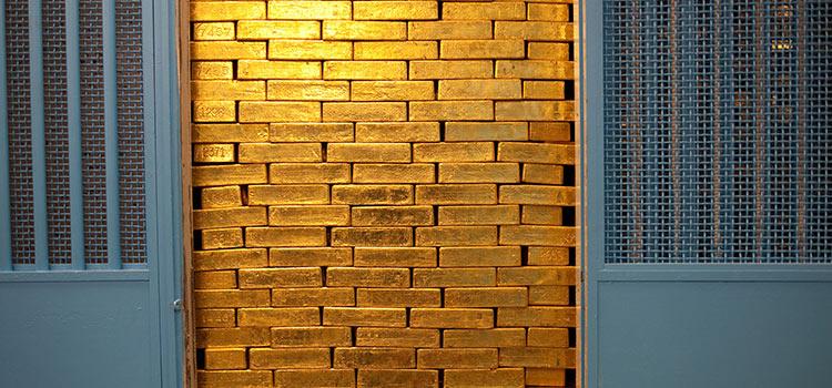 места в мире для хранения золота