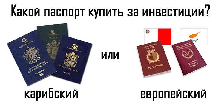 купить второй паспорт Мальты или Кипра