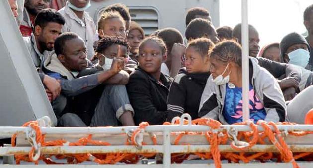 Как встречают беженцев на мальтийской земле