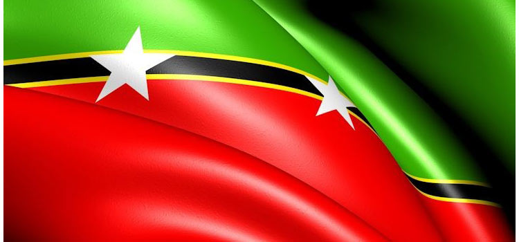 Сент-Китс и Невис на политической карте мира
