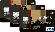Карта mBank's Visa Classic Private Banking