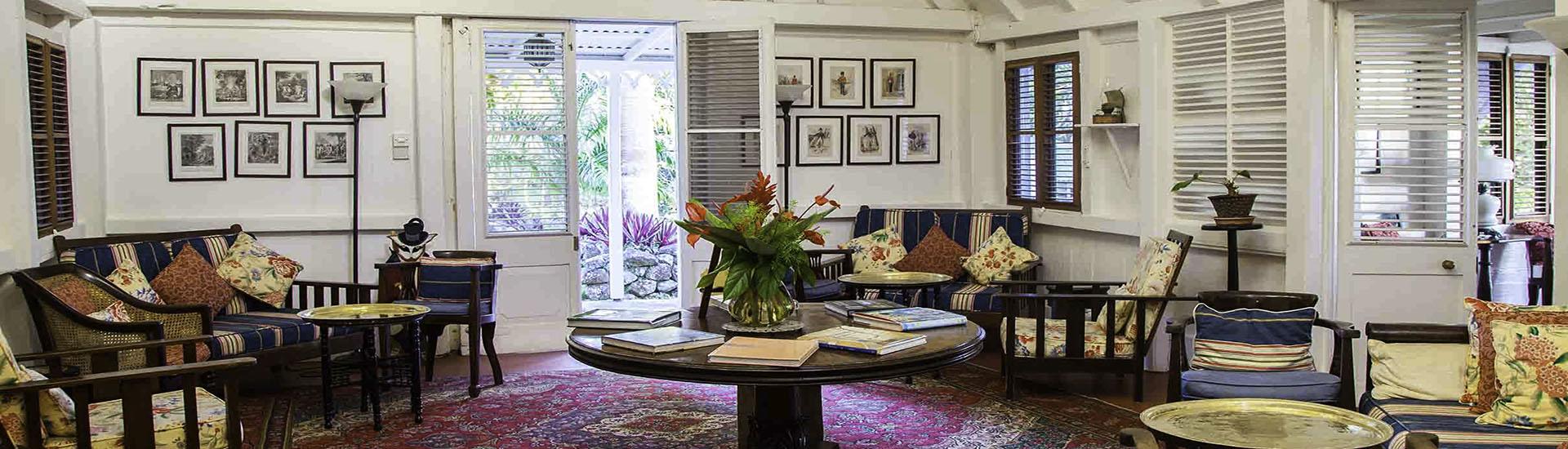 отель The Greathouse of The Hermitage на острове Невис