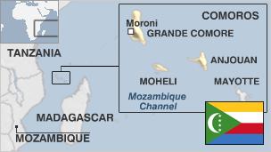 Comoros-map
