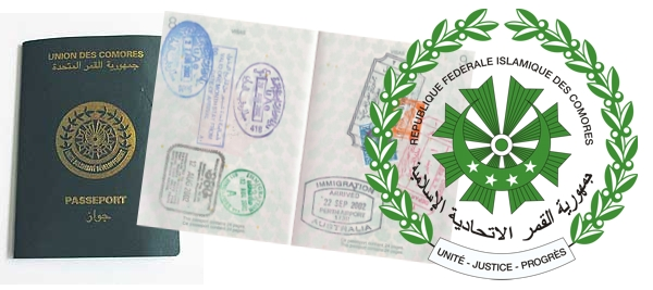Comoros-pasport