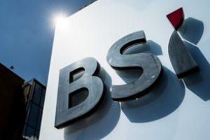 Счет в банке BSI