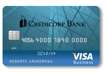 Visa Credicorp Bank Business