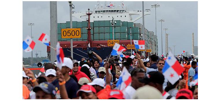 Возобновление работы Панамского канала