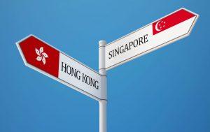 Сингапур и Гонконг быстрее проходят процесс интернационализации