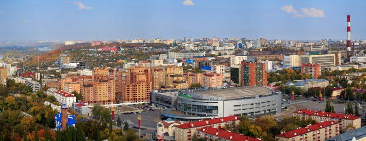 Панорама Уфа-Арены