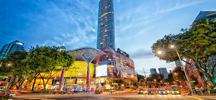 Singapore-road