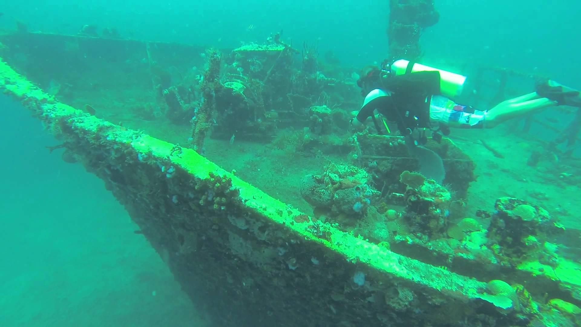 подводное исследования на Сент-Китсе и Невисе