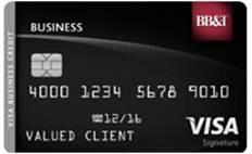 BB&T Visa Business Credit Card