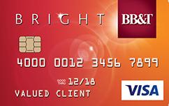 BB&T Bright Card VISA