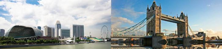 singapore-london