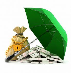 green-umbrela