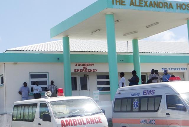 Больница Alexandra Hospital на острове Невис