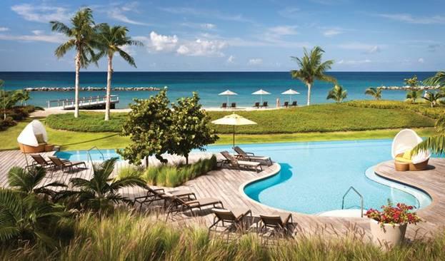 бассейн курорта на Невисе