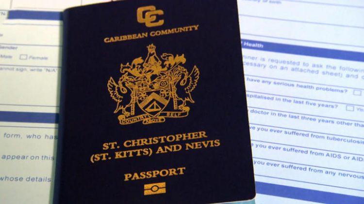 Сент-киттский паспорт