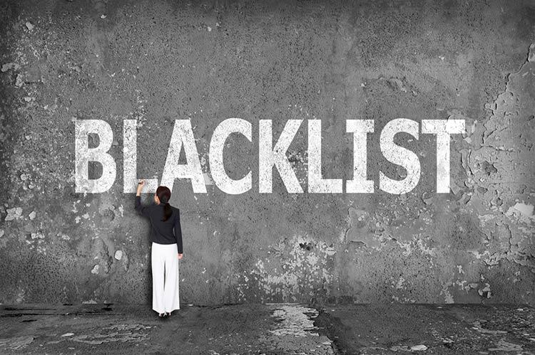 черный список Сент-Китс и Невис