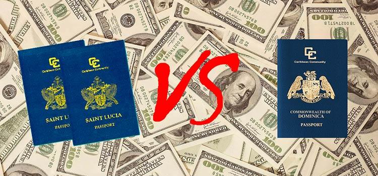 Гражданство Сент-Люсии и Доминики: сравнение