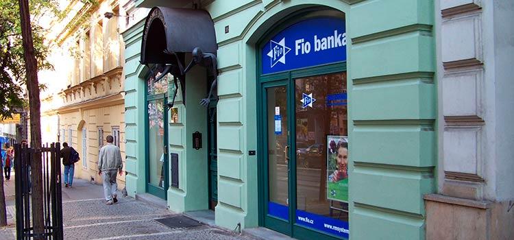 Открытие счета в Fio banka в Чехии