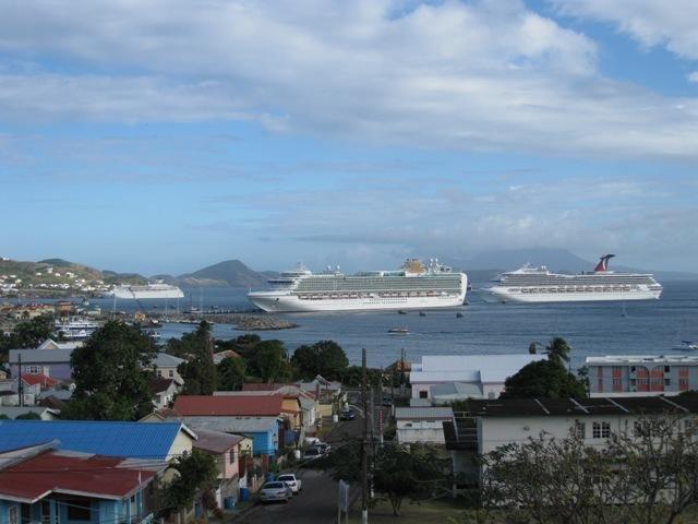 судна на Сент-Китс и Невис
