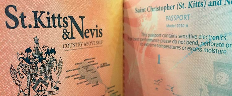 второй паспорт Сент-Китс и Невис