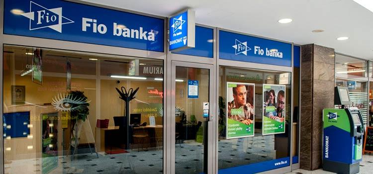 Счет в Чехии в Fio banka