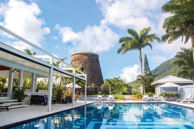 местный курорт Сент-Китс и Невис