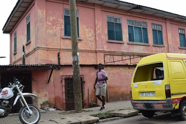 Фальшивое посольство США в Гане
