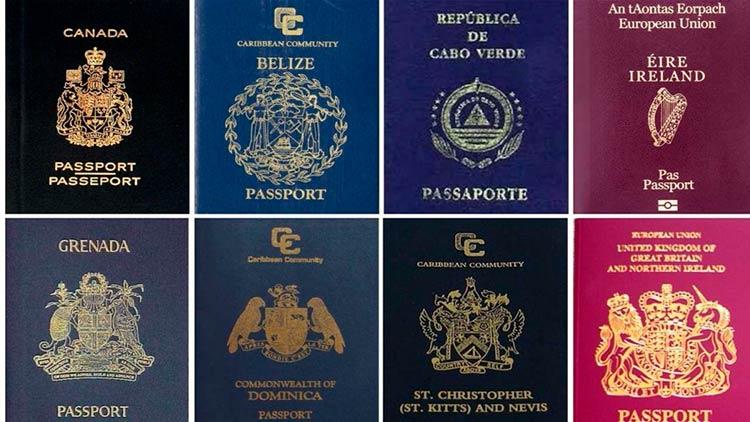Коллекция паспортов