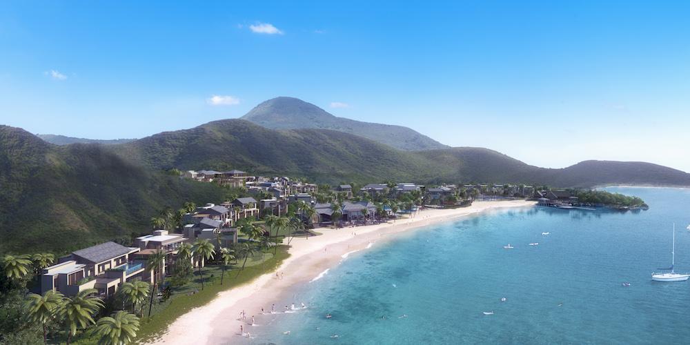 пляж  Сент-Китс и Невис