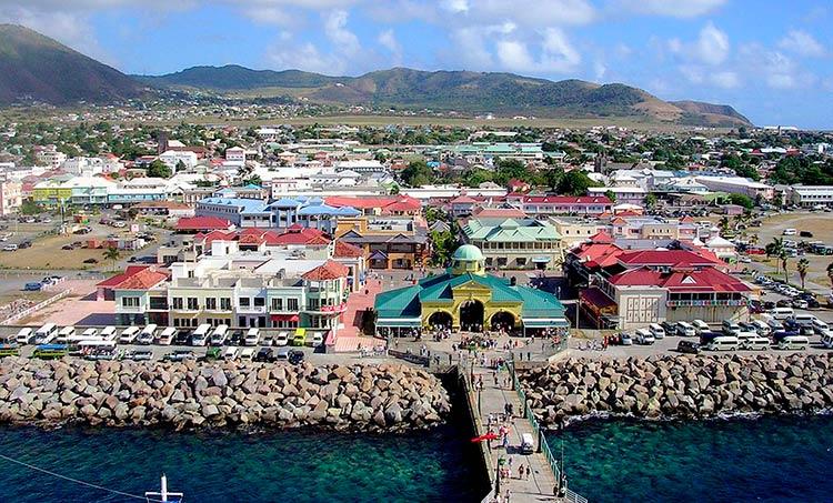 рост занятости в Сент-Китс и Невис