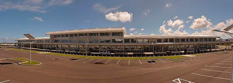 Международный аэропорт имени В. К. Бёрда