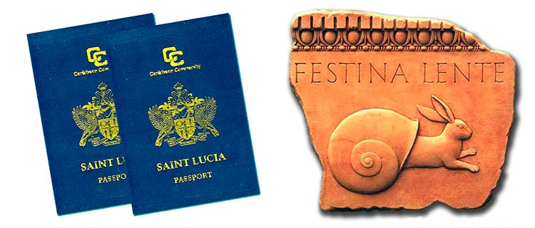Гражданство за инвестиции Сент-Люсии