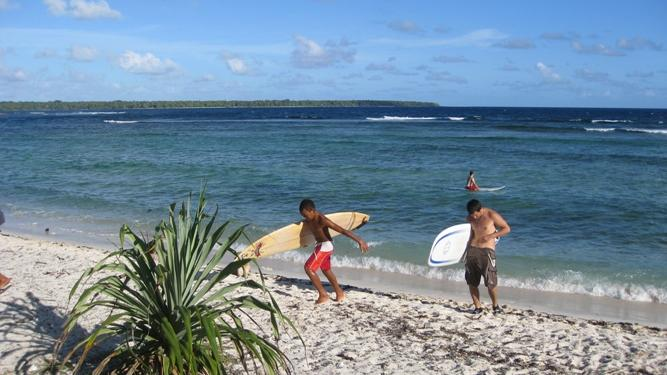 серфинг Вануату