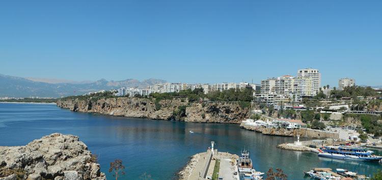 Средиземноморский курортный город Анталия