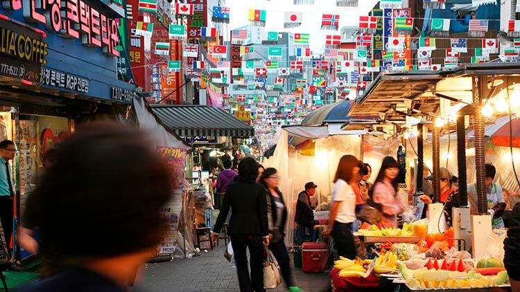 Южная Корея без виз