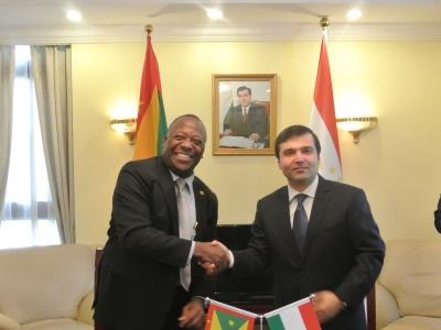 Гренада дипломатические отношения с Таджикистаном