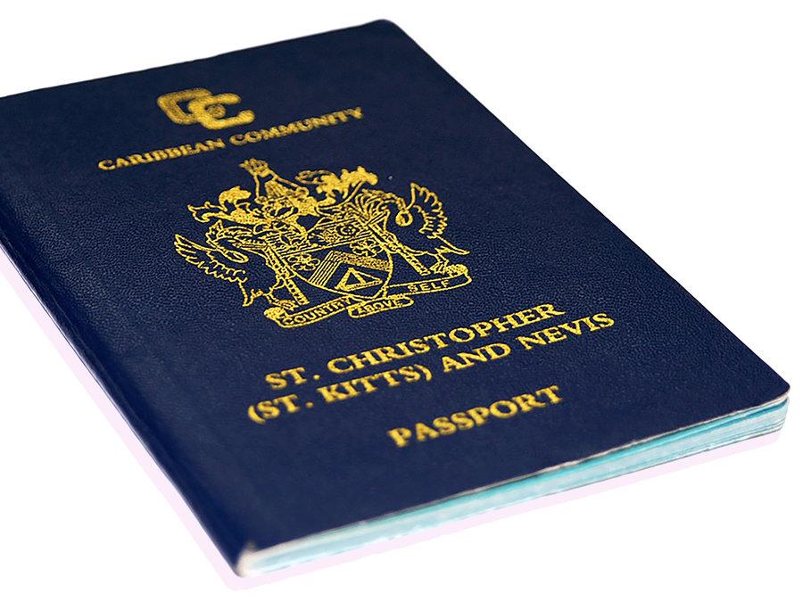паспорт Сент-Китс за дотации