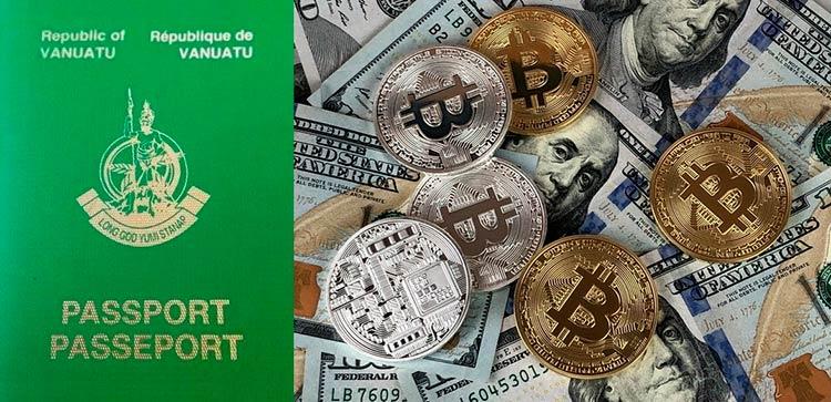 купить второй паспорт за Bitcoin