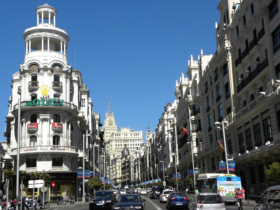 столица Мадрид