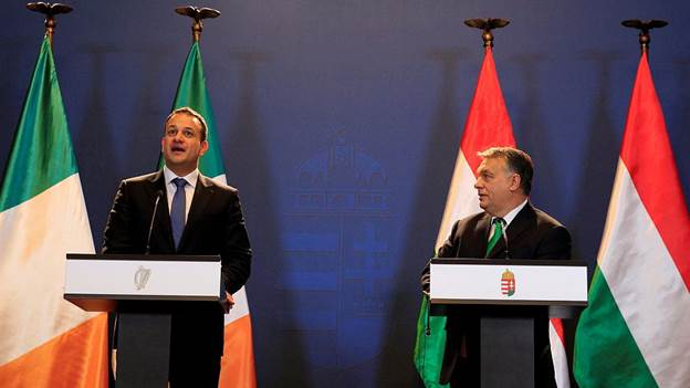 Венгрия и Ирландия